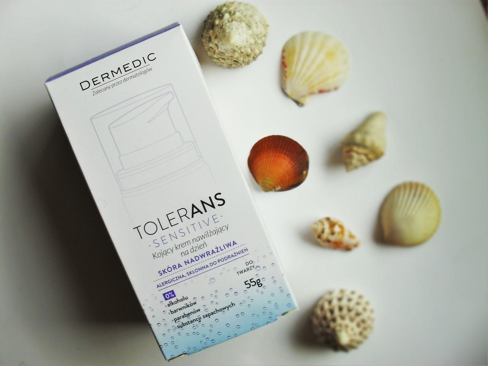 Nawilżanie skóry z Dermedic Tolerans