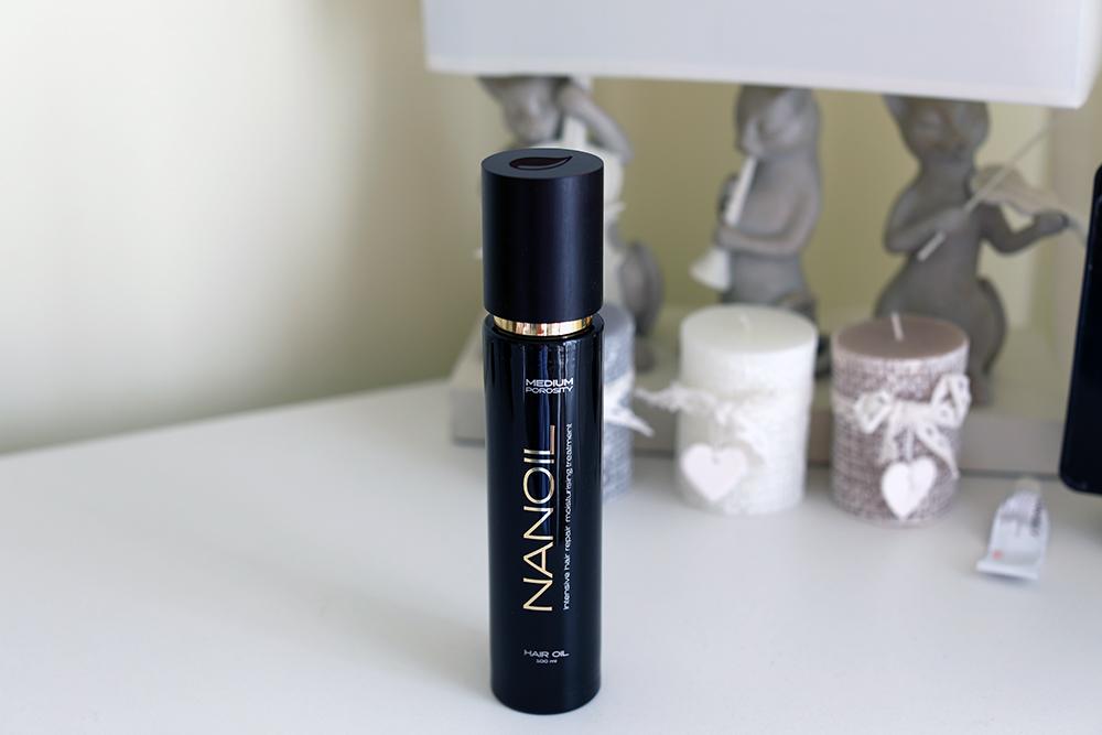 Moja przygoda z olejkiem Nanoil. Jak dbać o włosy? Skutecznie!